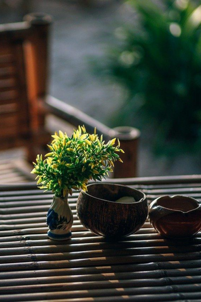 mobilier en bambou écoresponsable