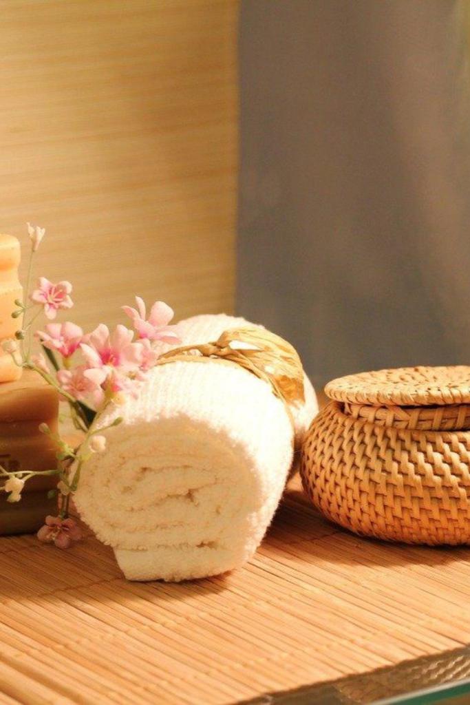 serviette bambou